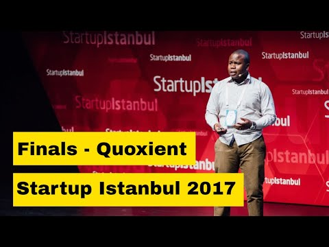 Quoxient Limited - Startup Istanbul Finalists