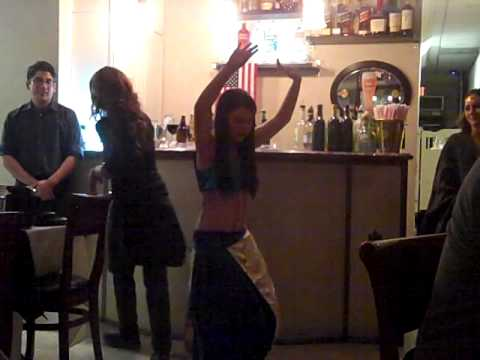Stephanie's Belly Dance Debut At Pars
