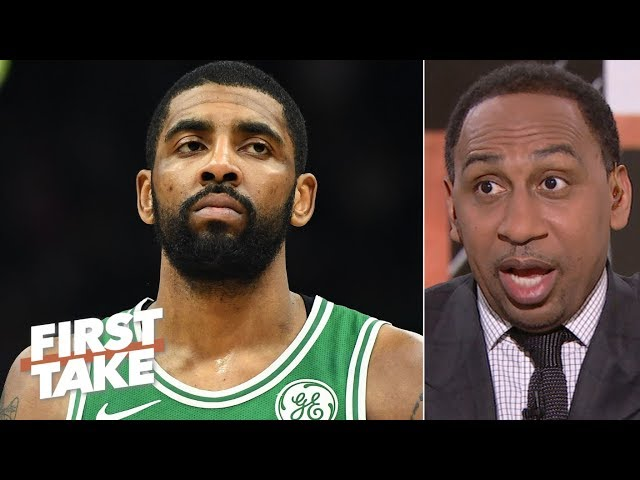 Kyrie Irving is leaving the Celtics in free agency – Stephen A. | First Take
