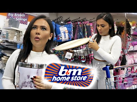 WHAT'S NEW IN B&M! COME SHOPPING WITH ME + HAUL | ItsSabrina