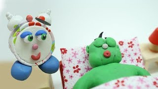 Green Baby in WHAT TO DO TO STAY HEALTHY - Stop Motion Cartoons For Kids