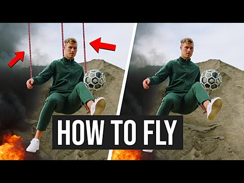 Realistic Flying Effect - Tutorial thumbnail