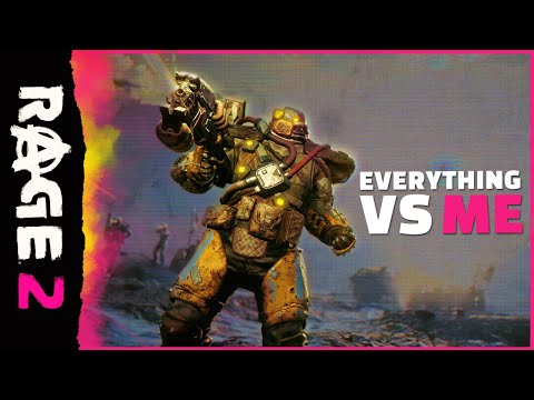 RAGE 2: Everything vs. Me Official Trailer