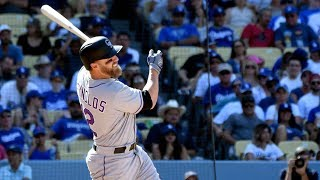 Rockies roll over NL West-best LA Dodgers and sweep the four-game set thumbnail