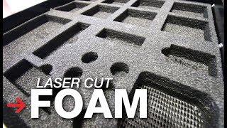 Laser Cut Foam | Laser Engraving Foam | Custom Foam Inserts