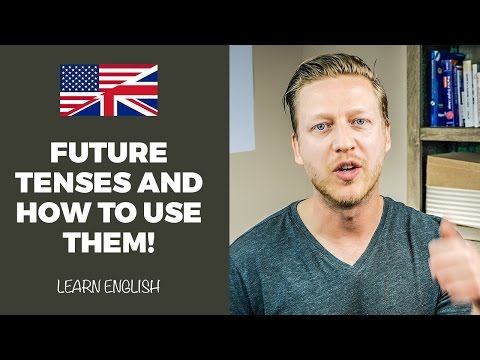 Future Tenses In English: WATCH THIS To Finally Learn How To Use Them (LOTS OF EXAMPLES) 😀
