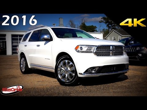 2016 Dodge Durango Citadel - Ultimate In-Depth Look in 4K