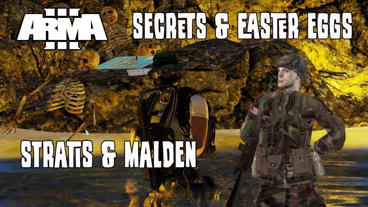 ArmA 3 Secrets and Easter Eggs - Stratis & Malden