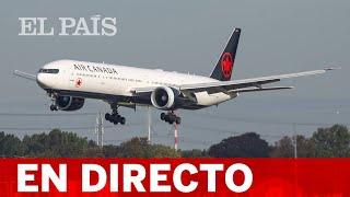 DIRECTO | BARAJAS prepara el aterrizaje de emergencia de un avión con daños en una rueda