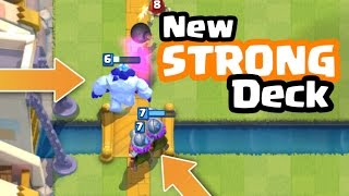 ice golem three musketeers strong deck in clash royale