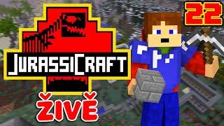 Jurassic Craft | Český Live Play #22 [Porty]