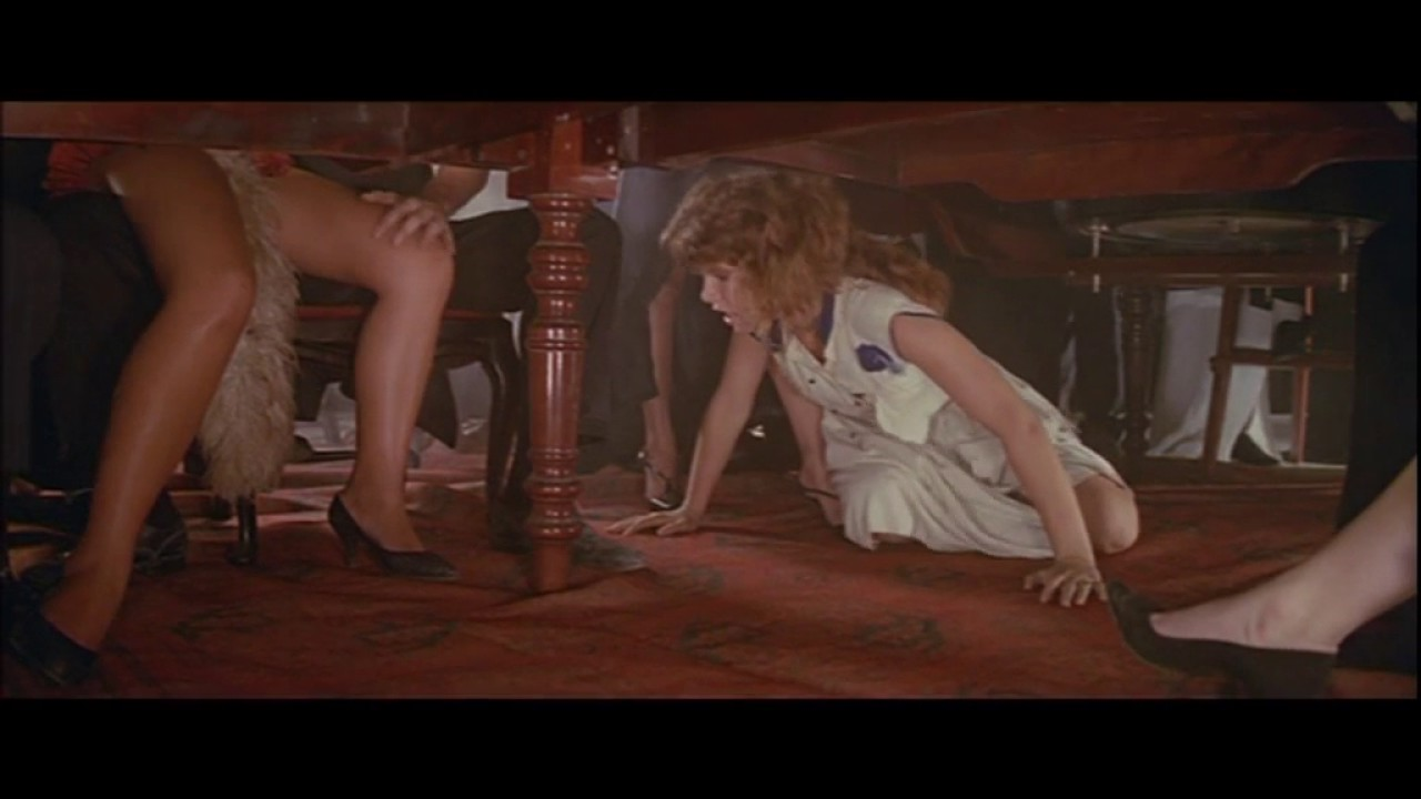 Woman Gets Her Sexy Legs Rubbed Under The Table - Youtube-5973