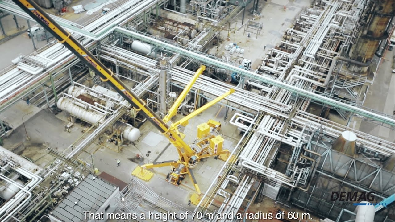 Demag AC 1000 Prangl  - Refinery Vienna