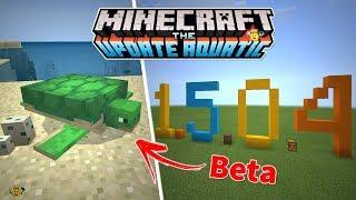 ⭐Nova Versão Minecraft 1.5.0.4 Beta/com Tartarugas🐢❕
