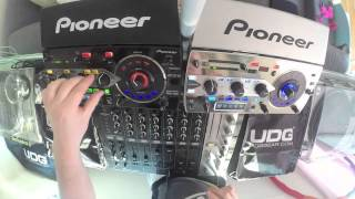 pioneer rmx 1000 as a step sequencer