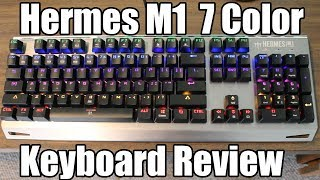 Gamdias Hermes M1 Mechanical Keyboard Review