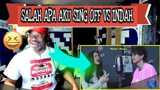 Download lagu ILIR 7   Salah Apa Aku SING OFF vs Indah Aqila - Producer Reaction