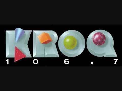 KROQ 106.7 Pasadena-Los Angeles - 13 January 1989