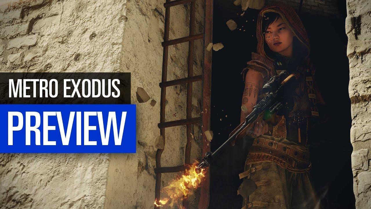Metro Exodus PREVIEW   Letzter Gameplay-Check vor Release