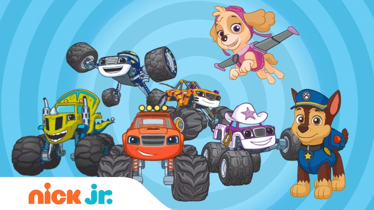 Mix It Up w/ PAW Patrol & Blaze and the Monster Machines | Nick Jr ...