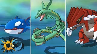 How To Get Kyogre, Groudon, and Rayquaza in Pokémon Ultra Sun and Ultra Moon!
