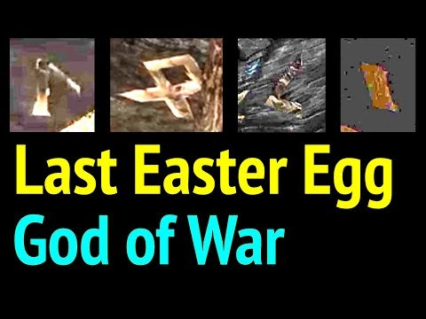 Last Easter Egg in God of War (Location Revealed For LOKI Symbols in Kratos House) GoW PS4