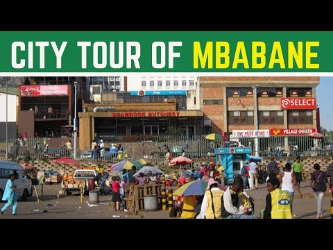 The Smallest City In The World (Mbabane, Swaziland) | South