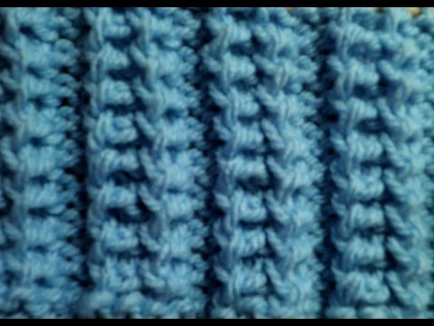 Strickmuster * GITTER * * - YouTube