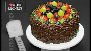 "Tort de ciocolata "" Cosulet cu fructe "" | Adygio Kitchen"