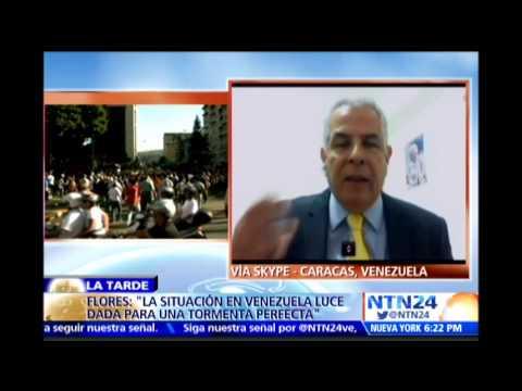 """""""Podría venir una guerra civil en Venezuela si sigue el deterioro social"""": diputado Leomagno Flores"""