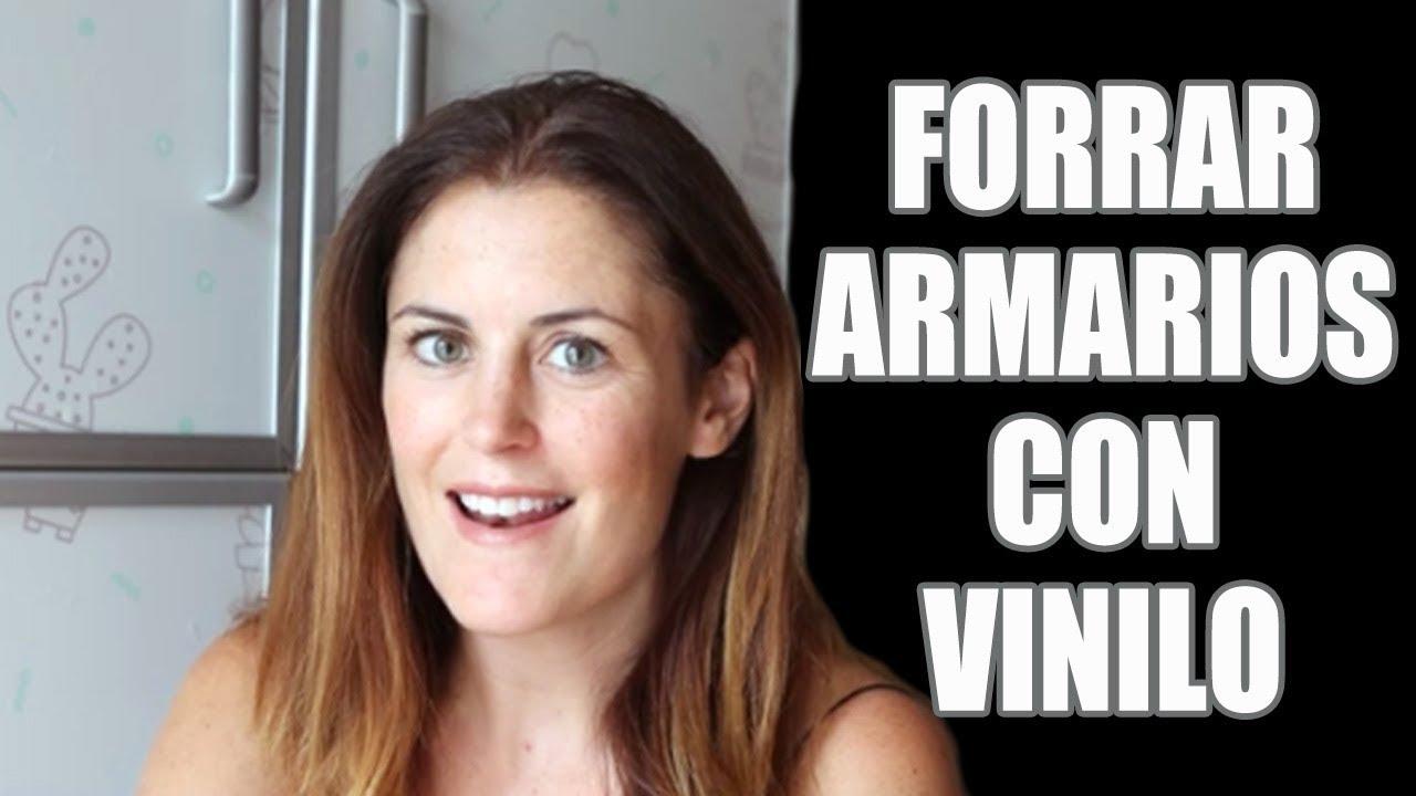 Cómo Forrar Armarios Con Vinilos Decorativos Wrapping Youtube