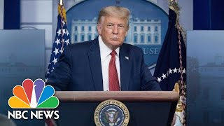 Trump Holds News Conference At The White House| NBC News