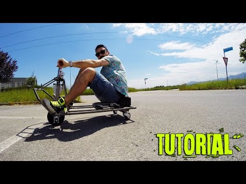 Come Costruire Un Crazy Cart Artigianalmente... How To Make A Drift Machine