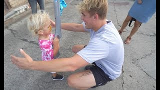 Mini Jake Paul Meets Jake Paul! **first time meeting**
