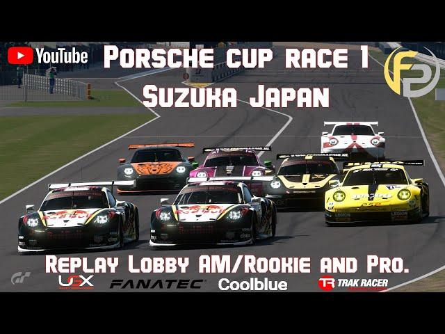 Race 1 FPSimracing Porsche Super Cup