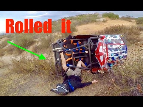 CRASHED MY NEW RZR UTV!!