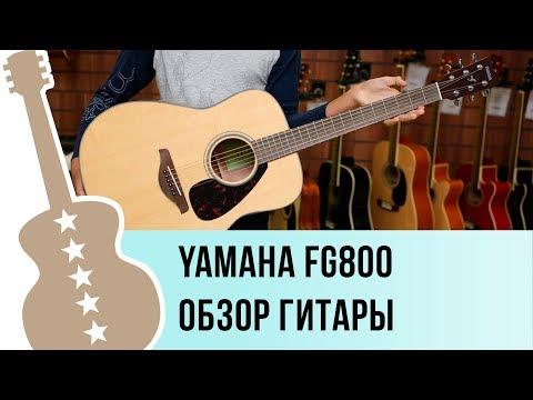 Yamaha FG800 Обзор акустической гитары
