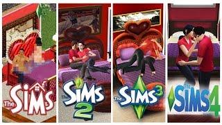 ♦ Sims 1 - Sims 2 - Sims 3 - Sims 4 : WooHoo - Evolution