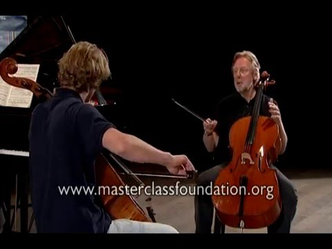 Dvořák Cello Concerto: Helmerson's Tips