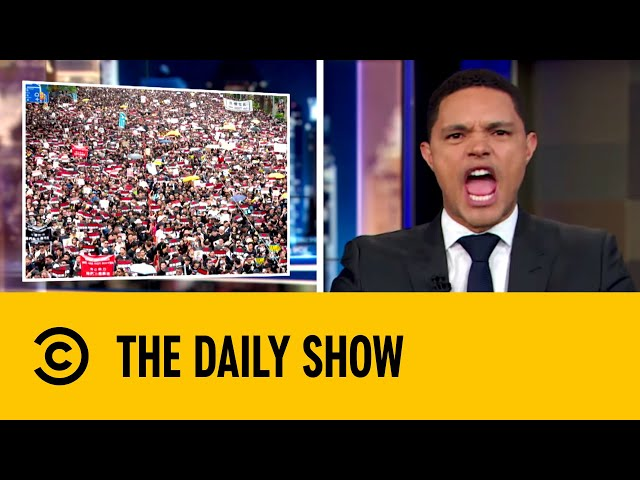 Hong Kong Protests' Immediate Pay Off | The Daily Show with Trevor Noah