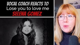 Vocal Coach Reacts to Selena Gomez 'Lose you to love me' #shotoniphone