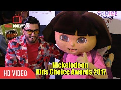 Ranveer Singh At Nickelodeon Kids Choice Awards 2017   PADMAVATI STAR Ranveer Singh
