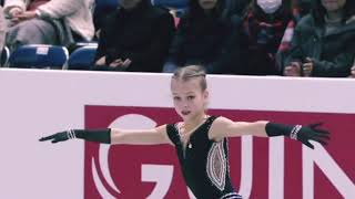 with you Alexandra Trusova