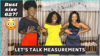HOW TO MEASURE: BUST, WAIST, HÏPS & CUP SIZE