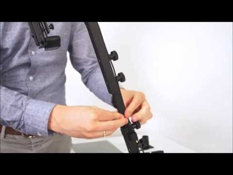 How to assemble and use the Mobile Device Stand for Tobii X2 Eye Trackers
