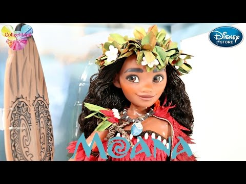 "Disney Store: Moana | 17"" Moana Limited Edition Doll 