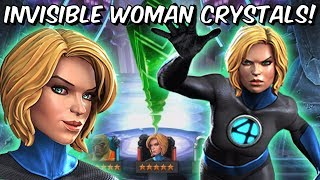 5x 6 Star Invisible Woman Featured Cavalier Crystal Opening! - Marvel Contest of Champions