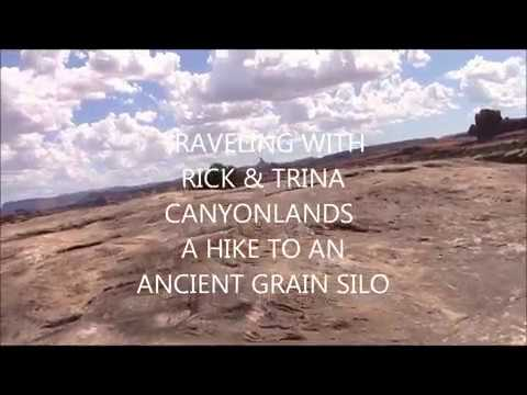 CANYONLANDS HIKE TO ANCIENT GRAIN SILO