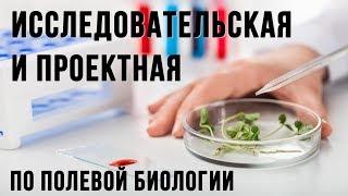 Исследовательская и проектная деятельность школьников по полевой биологии