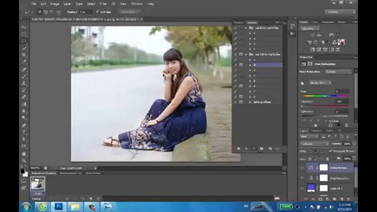 Làm thế nào để sử dụng Action trong Photoshop